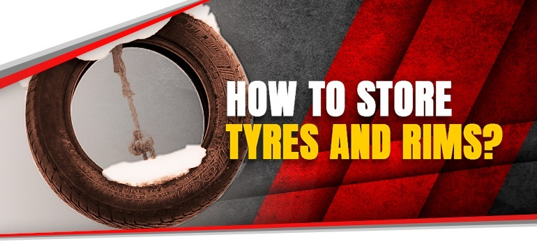how to store tyres and rims