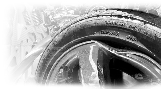 rim straightening and rim repair