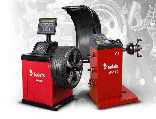 wheel balancers for tyre service