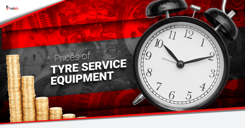 tyre service equipment prices