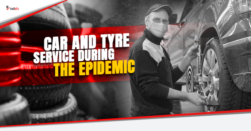 tyre fitting during the epidemic