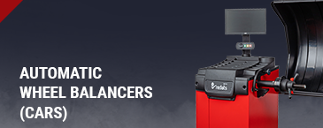Automatic wheel balancers